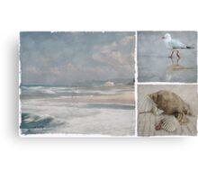 Beach Triptych 1 Canvas Print