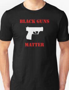 Black Guns Matter Short Sleeve T-Shirt