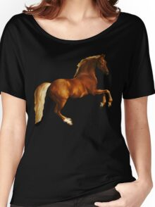 George Stubbs Whistlejacket - 1762 (for black background) Women's Relaxed Fit T-Shirt
