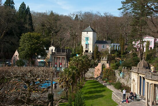 Portmeirion by Kevin Cartwright
