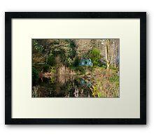 Portmeirion Gardens Framed Print