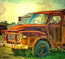 Old Rusty Bedford Truck by hereswendy