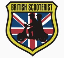British Scooterist Shield by Scooterist