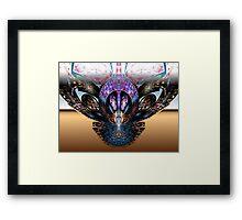 Tut63#5: Heavy Metal Butterfly (G1377) Framed Print