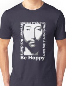 OMM 0000 THX -1138 Be Happy Unisex T-Shirt