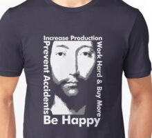 OMM 0000 THX -1138 Be Happy Unisex T-Shirt