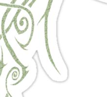 Etching Eye Sticker