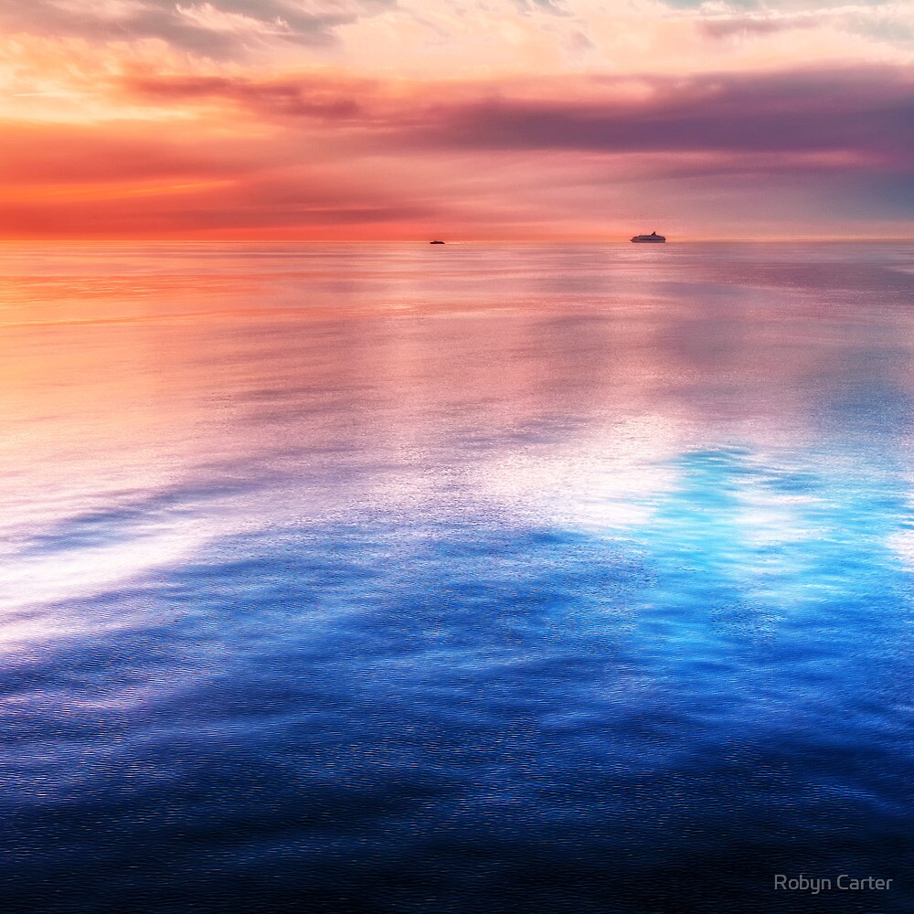 Finnish Sunset by Robyn Carter