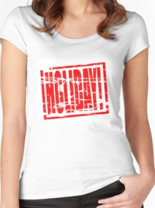 Holiday! Women's Fitted Scoop T-Shirt