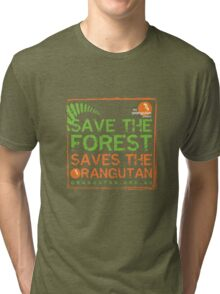 Save the Forest Tri-blend T-Shirt