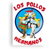 Breaking Bad inspired 'LOS POLLOS HERMANOS Canvas Print