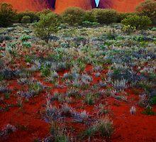 Kata Tjuta Sunset 2 by D-GaP