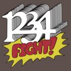 1 2 3 4 Fight! by bobbydanger