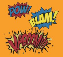 POW BLAM KABOOM! by haegiFRQ