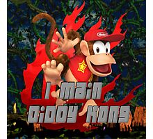 I MAIN DIDDY KONG Photographic Print