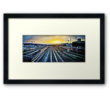 Hardbrück Railrays Framed Print