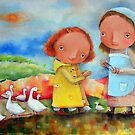 Goose Girls by Monica Blatton