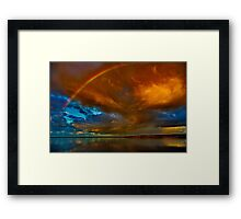 """The Tempest And The Vow"" Framed Print"