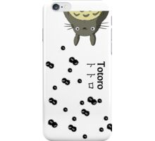 Totoro and Soot Gremlins iPhone Case/Skin
