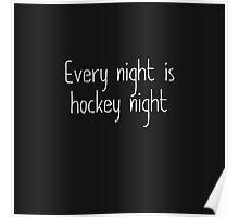hockey nights  Poster