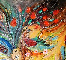 Original painting fragment 06 by Elena Kotliarker