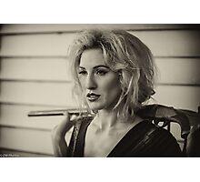 Jessica White, wild woman Photographic Print