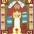 St. John the Divine Icon by David Raber