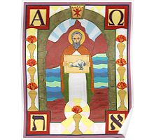 St. John the Divine Icon Poster