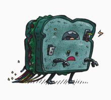 Moldy Sandwich Bot One Piece - Long Sleeve