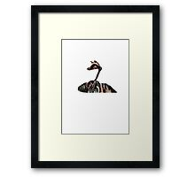 Devolution (sci-fi novel) artwork Framed Print