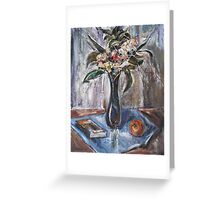 Still-Life with Book Greeting Card