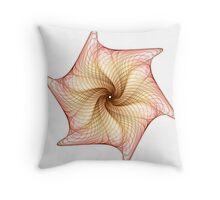 Ribbed Seashell Throw Pillow