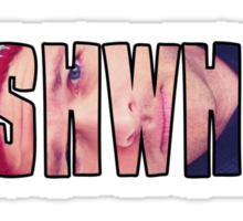 GISHWHES - Misha Collins' Sock Monkey Hat Sticker