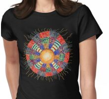 Moon Vibes Womens Fitted T-Shirt