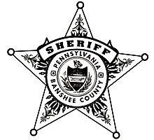 Banshee Sheriff Photographic Print