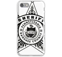 Banshee Sheriff iPhone Case/Skin