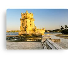 Belem Tower (Torre de Belem) in Lisbon Canvas Print
