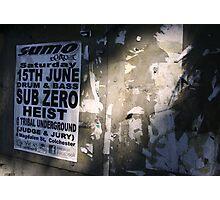 15th June Sub Zero Photographic Print