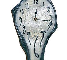 Salvador Dahli Melting Clock by alanf1