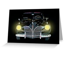 1941 Lincoln Convertible  Greeting Card