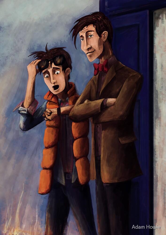 Time's Heroes by Adam Howie
