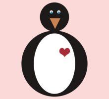 Penguin Love Baby Tee