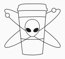 Coffee and Aliens Logo by hispurplegloves