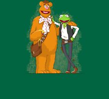 han the frog and fozzy the wookie Womens Fitted T-Shirt