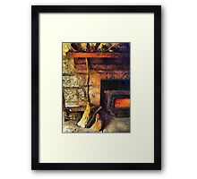 Wisewoman's Hearth Framed Print