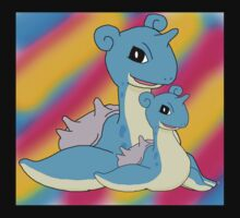 Lapras Family Kids Tee