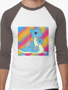 Lapras Family Men's Baseball ¾ T-Shirt