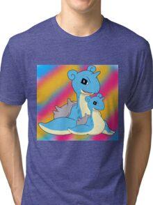 Lapras Family Tri-blend T-Shirt