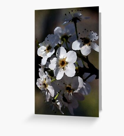 Artistic Blossoms Greeting Card