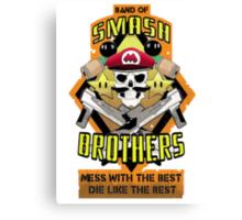 Band of Smash Brothers Canvas Print